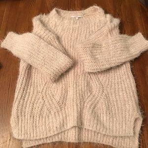 Candies Eyelash Cozy Sweater Sz XL